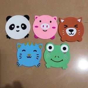 Animal coaster bundle
